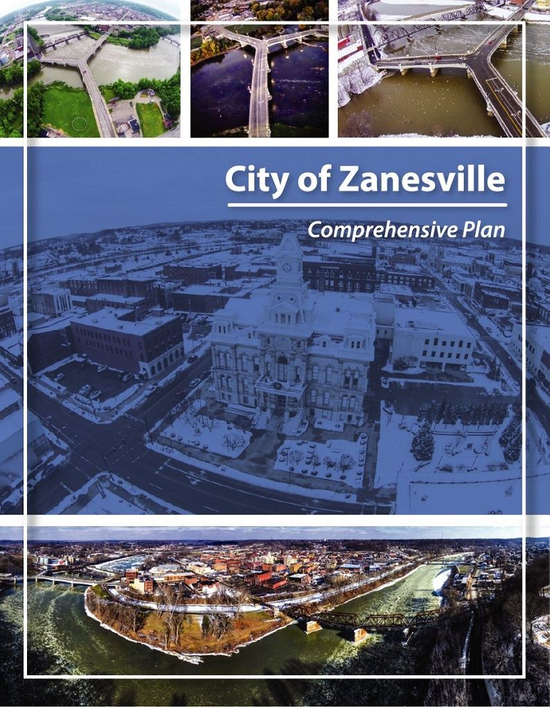 City of Zanesville Comprehensive Plan cover page photo credits: Andrew Silva and Brian McPeek Opens in new window